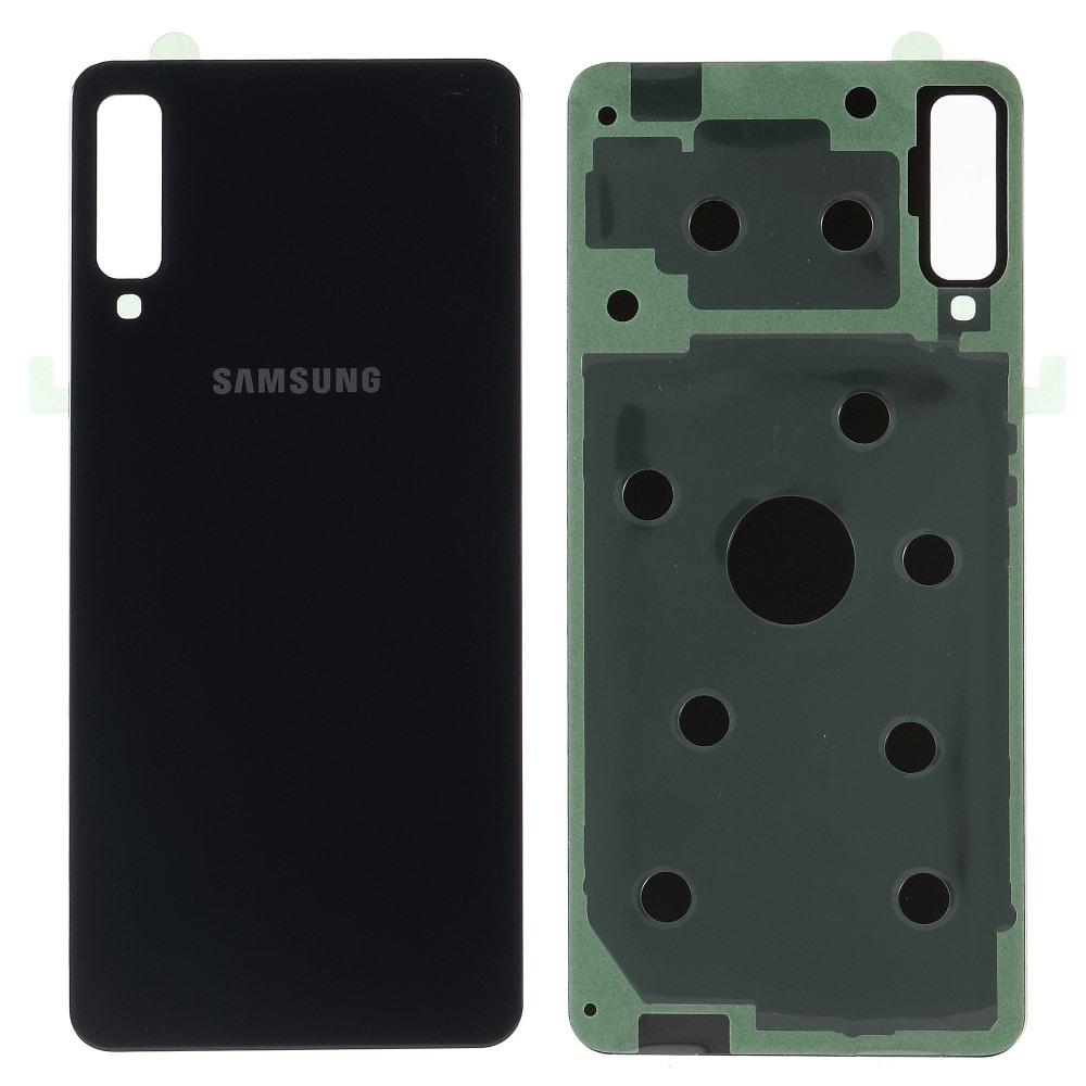 Samsung Galaxy A7 2018 zadní kryt baterie černý A750