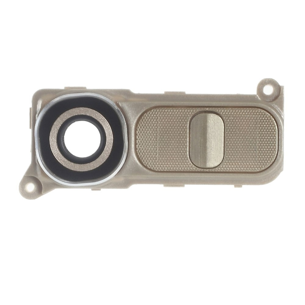 LG G4 Krytka modulu fotoaparátu včetně krytu tlačítek H815 Zlatá
