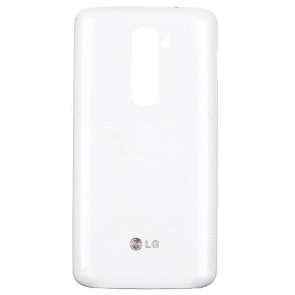 LG G2 zadní kryt baterie plastový bílý D802 D803 včetně NFC antény
