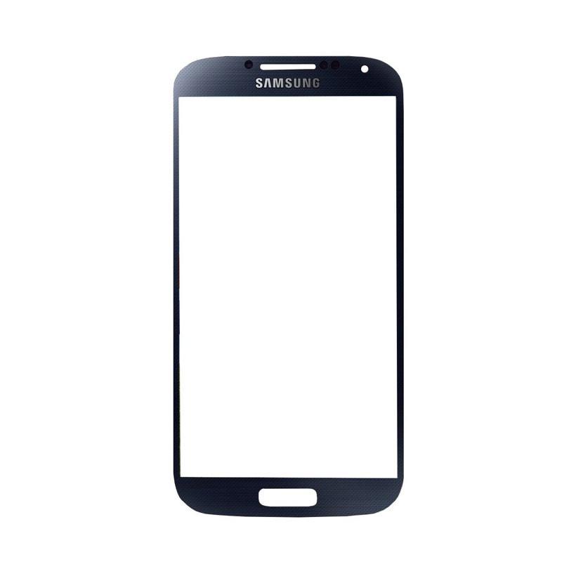 Samsung Galaxy S4 krycí sklo displeje černé (tmavě modré) i9505