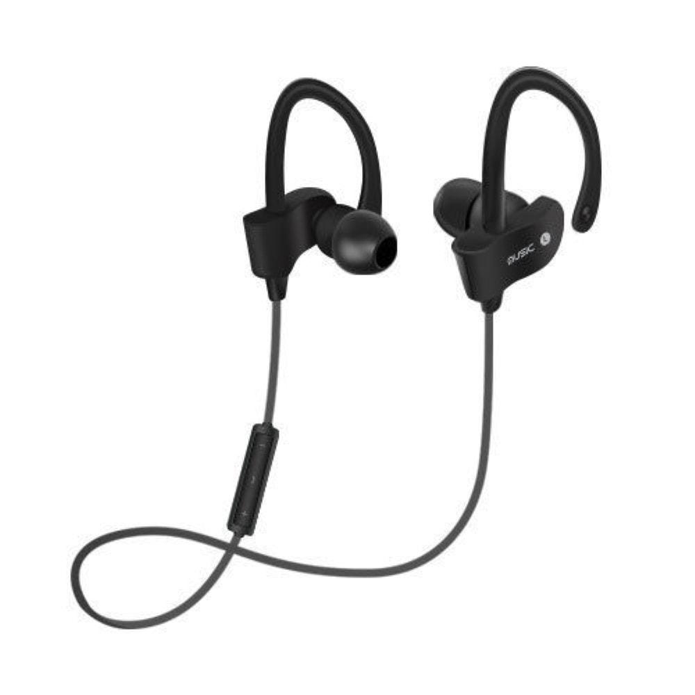 Bezdrátová sportovní sluchátka bluetooth špunty s mikrofonem