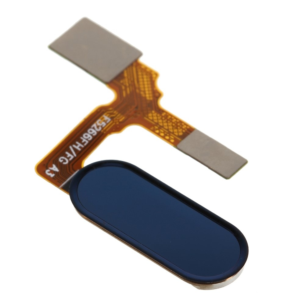 Honor 9 otisk prstu tlačítko home button modré touch ID flex