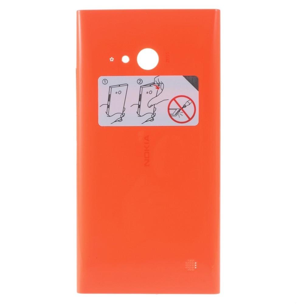 Nokia Lumia 730 Zadní kryt baterie oranžový