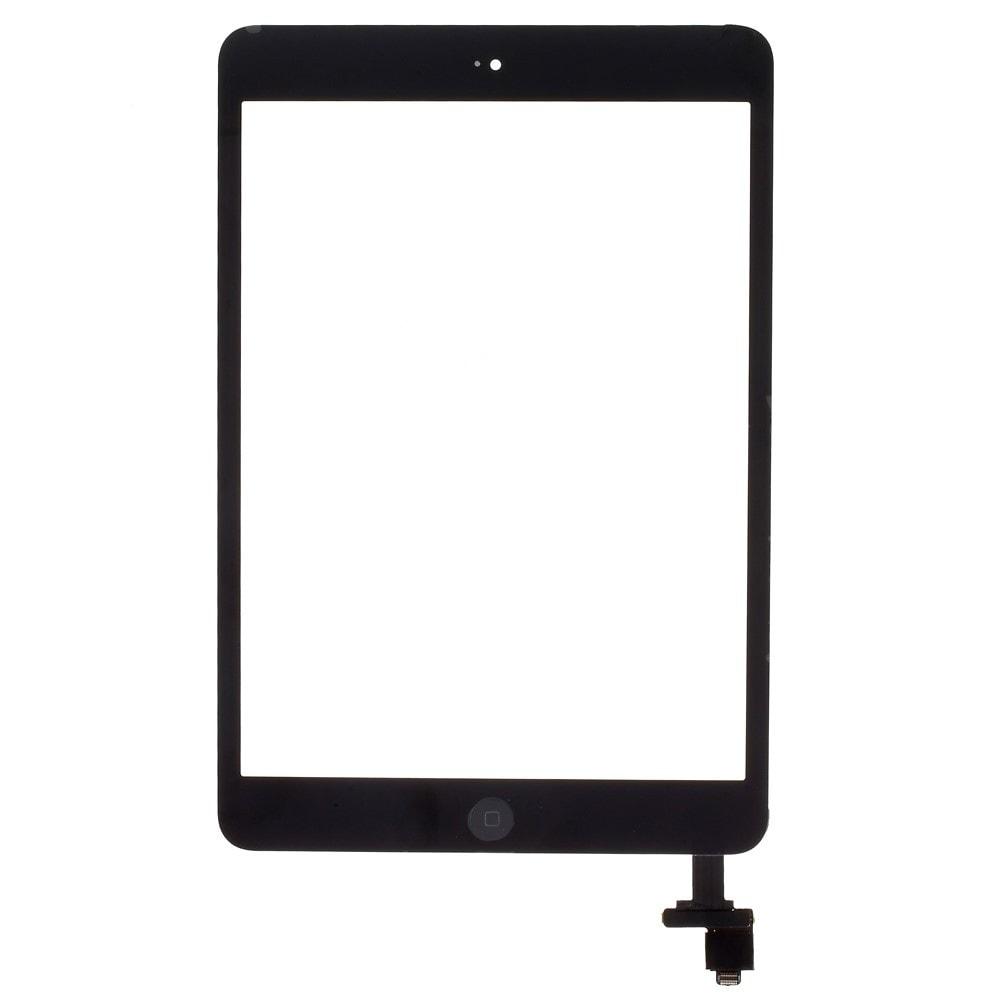 Apple iPad mini 1 2 dotykové sklo černé IC čip