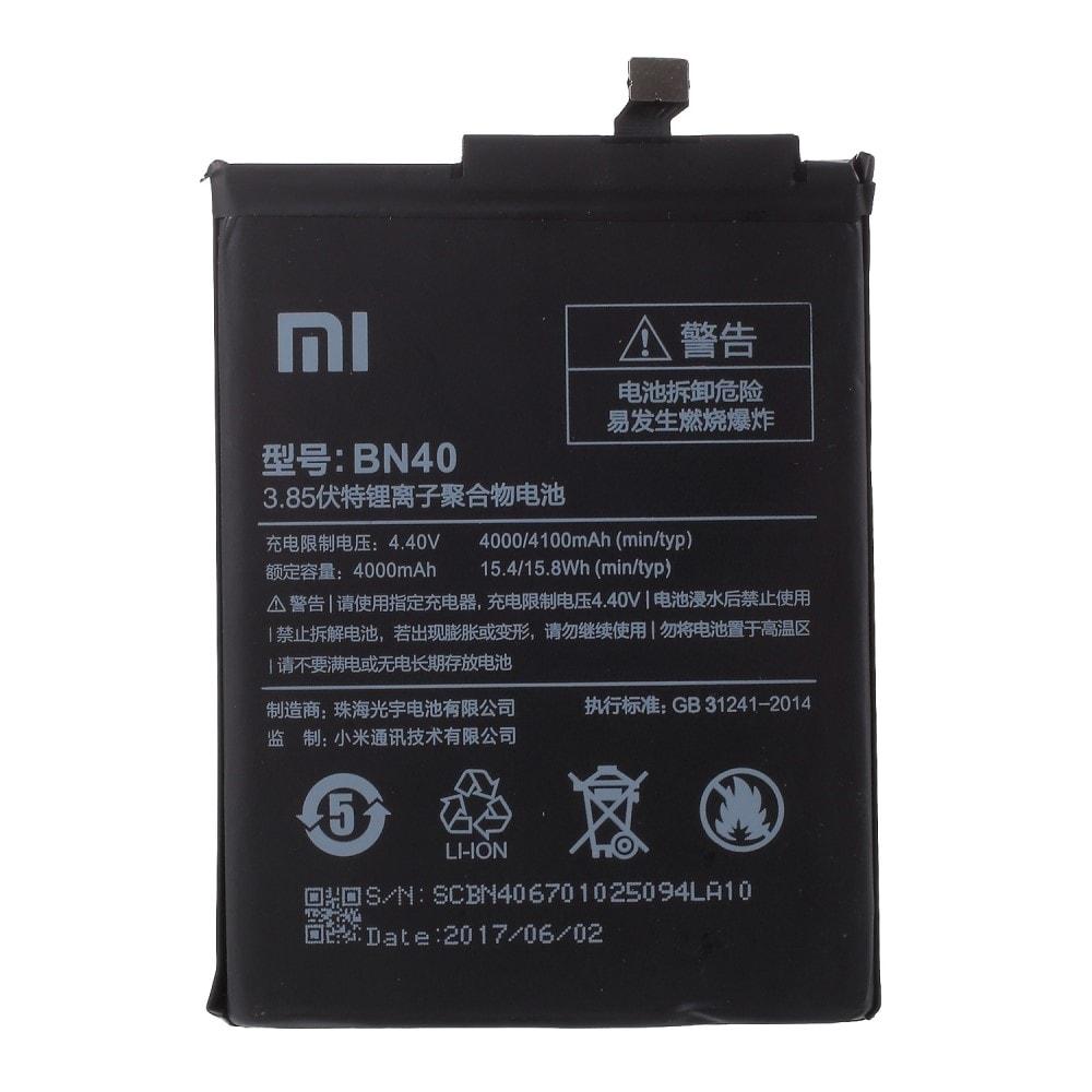 Xiaomi Redmi 4 baterie BN40