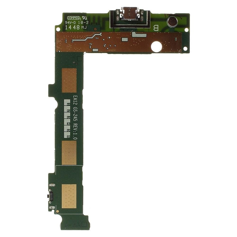 Microsoft Lumia 535 napájecí konektor nabíjení port USB mikrofon spodní deska