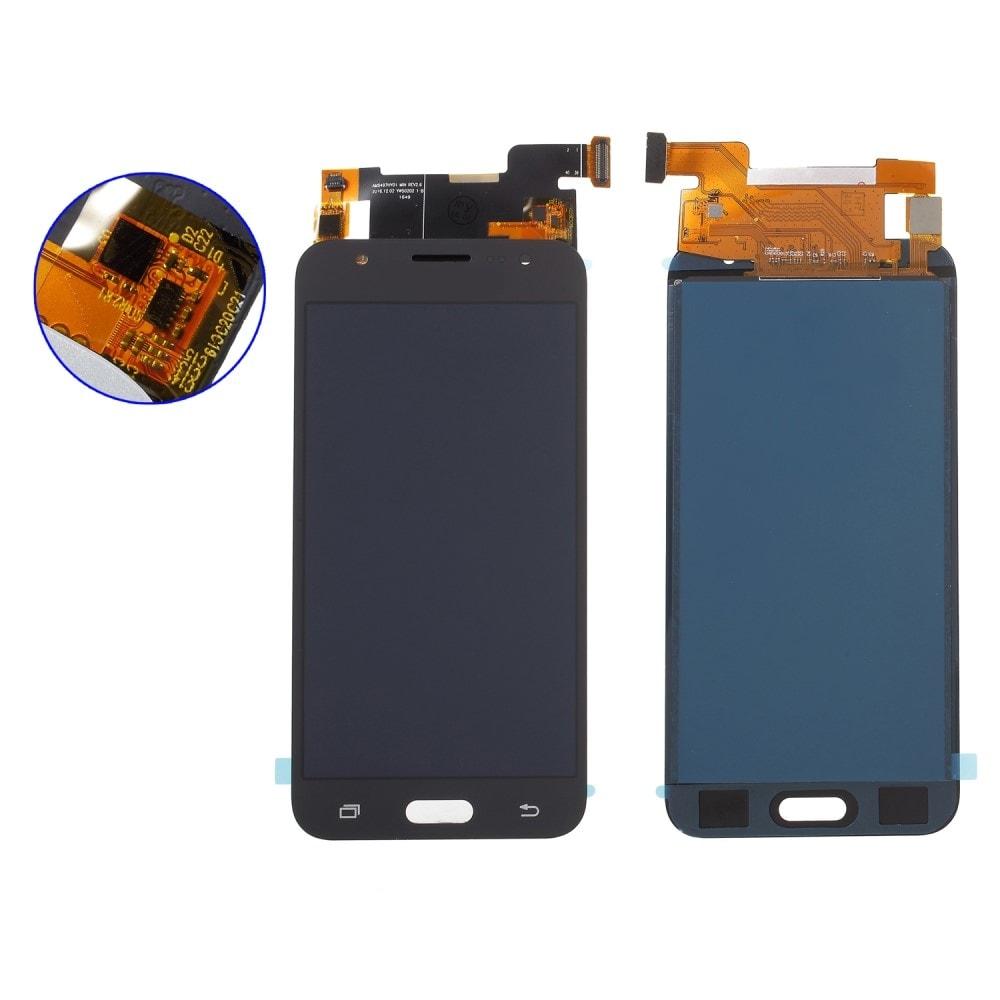 Samsung Galaxy J5 2015 LCD TFT displej dotykové sklo černé J500F