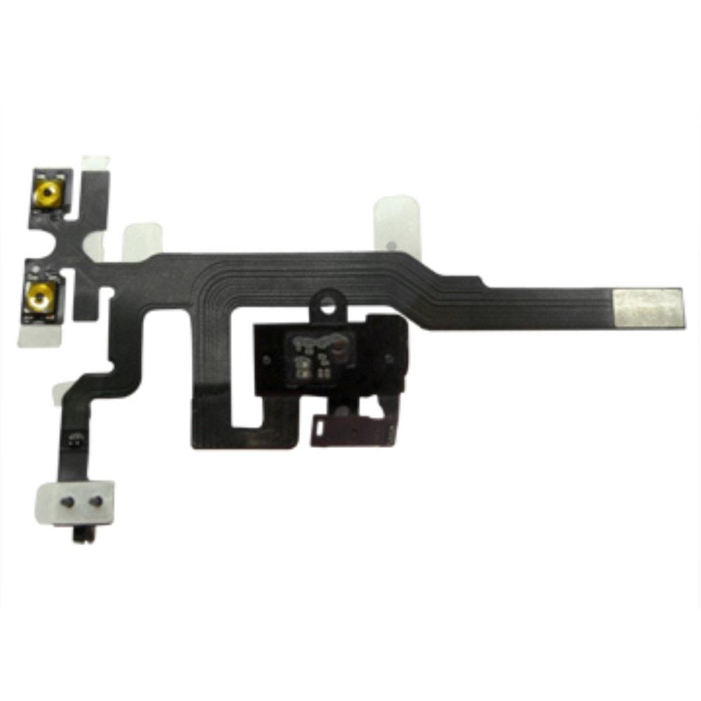 Apple iphone 4S volume flex ovládání hlasitosti audio jack černý