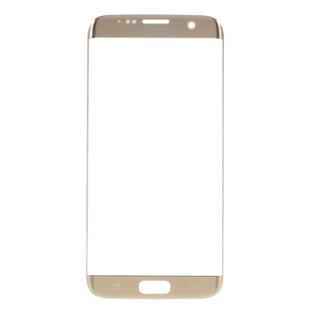 Samsung Galaxy S7 Edge přední krycí sklo displeje zlaté G935