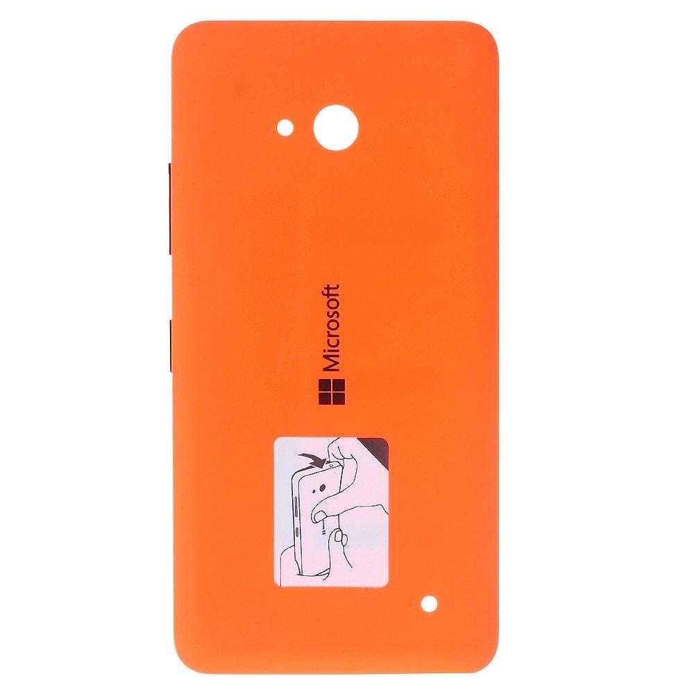 Microsoft Lumia 640 Dual sim LTE zadní kryt baterie oranžový