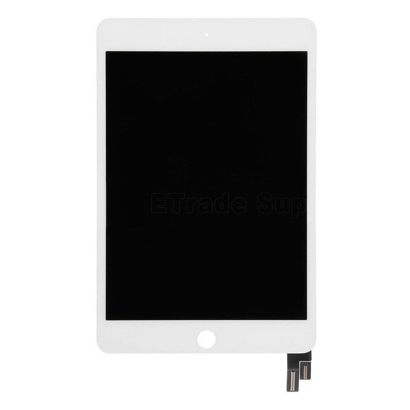Apple iPad mini 4 LCD displej bílý + dotykové sklo komplet přední panel