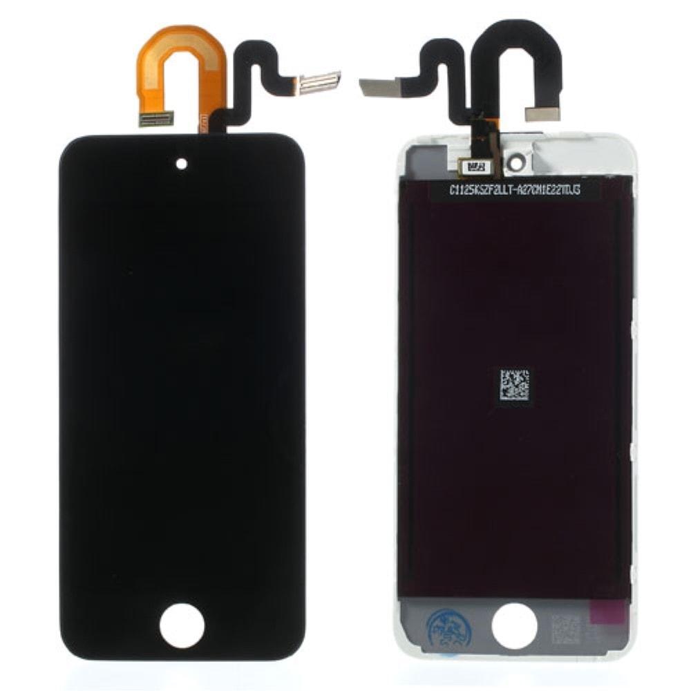 Apple iPod Touch 5 gen. LCD dotykové sklo černé