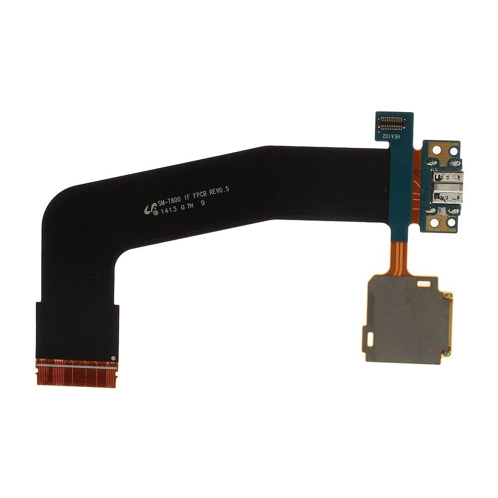 Samsung Galaxy Tab S 10.5 nabíjecí flex konektor napájecího portu včetně SD čtečky karet T800