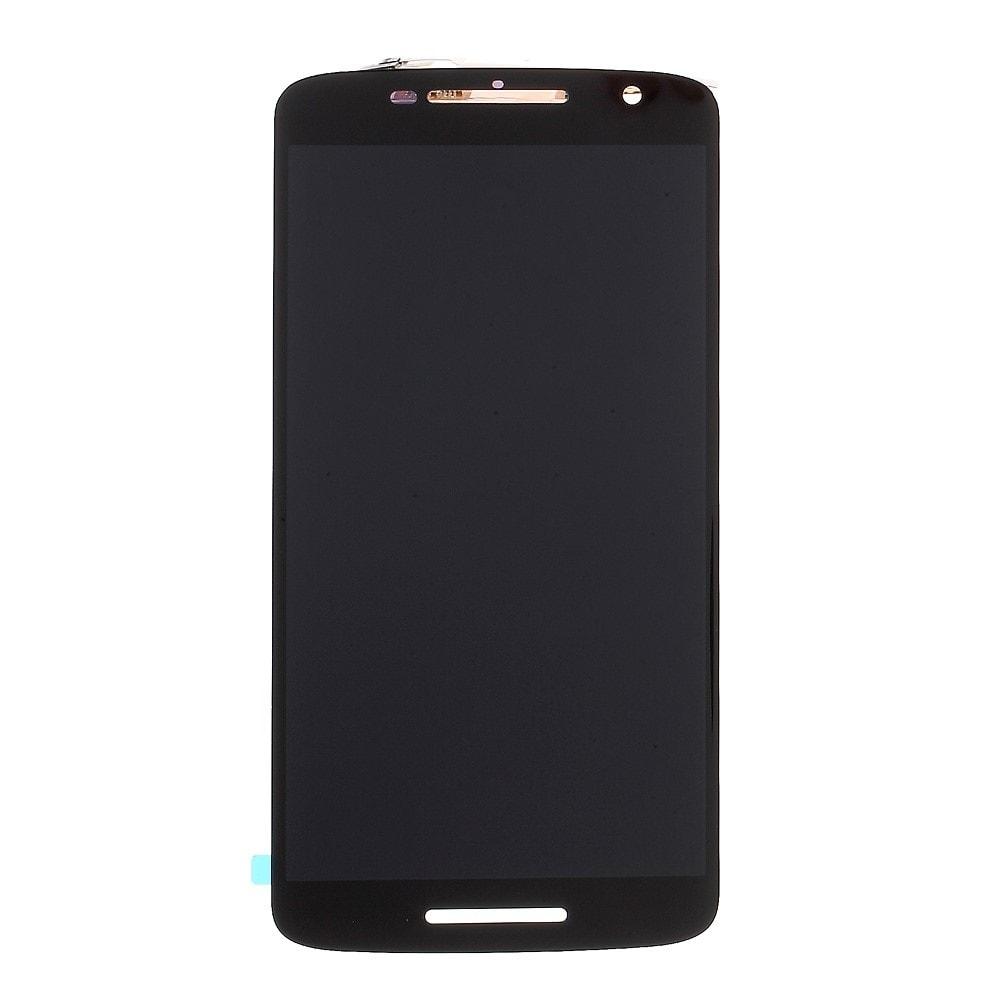 Motorola Moto X Play X3 LCD displej černý dotykové sklo komplet XT1562