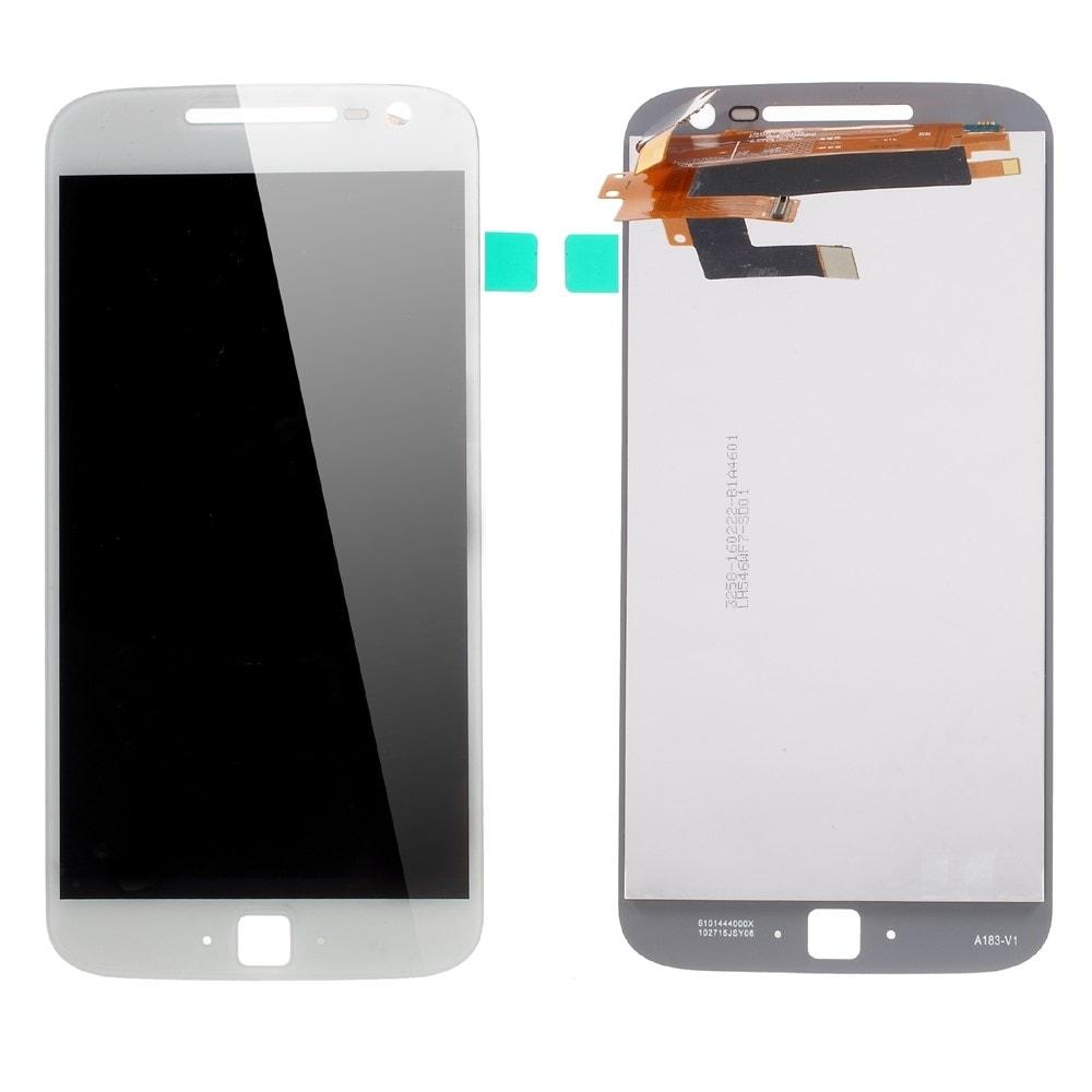 Motorola Moto G4 Plus LCD displej dotykové sklo komplet bílý