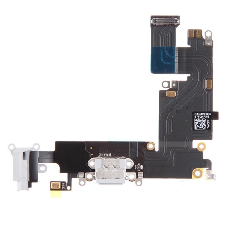 Apple iPhone 6 Plus dock konektor nabíjení mikrofon anténa flex bílý