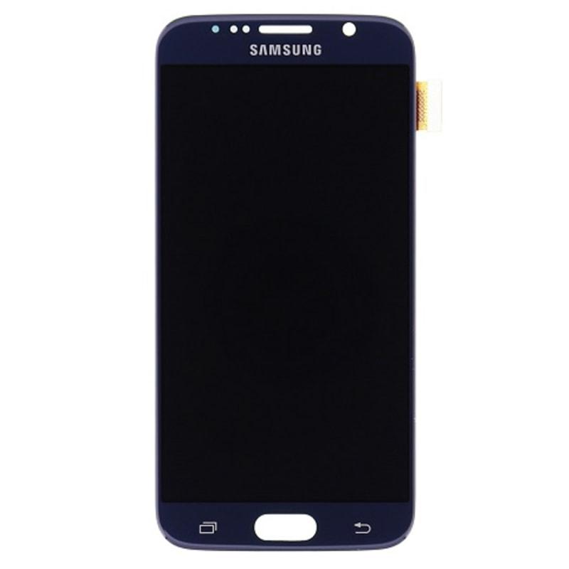 Samsung Galaxy S6 LCD displej dotykové sklo černé G920F