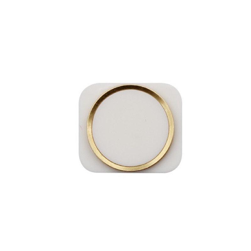 Apple iPhone 5 Home Button Domovské tlačítko ve stylu iPhone 5S touch ID zlaté champagne