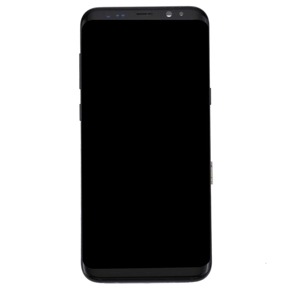 Samsung Galaxy S8 Plus LCD displej dotykové sklo černé G955F