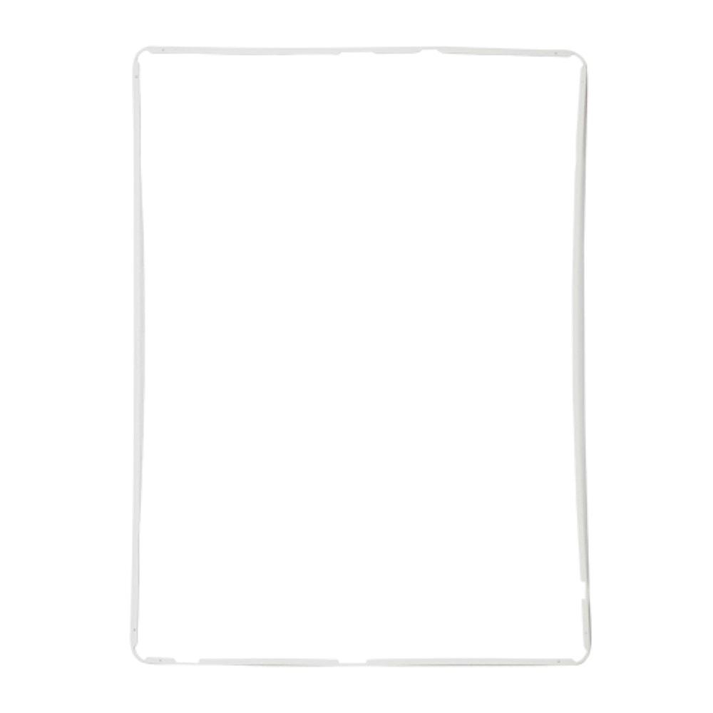 Apple iPad 2 3 4 středový rámeček dotykového skla bílý