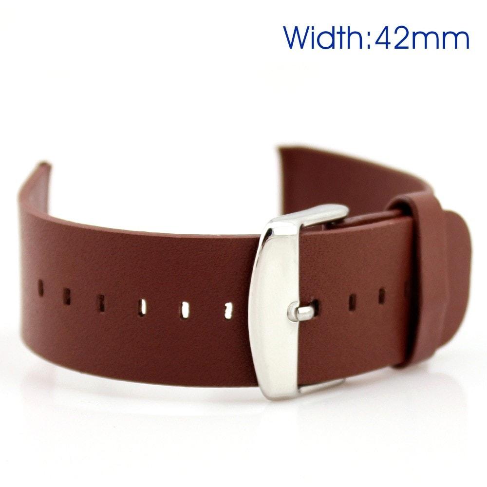 Apple Watch 42mm 44MM klasický kožený řemínek pásek na ruku
