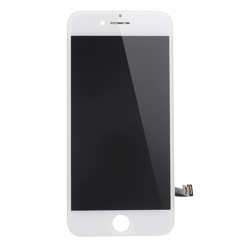 Apple iPhone 7 LCD dotykové sklo bílé přední kompletní panel jasnější podsvit
