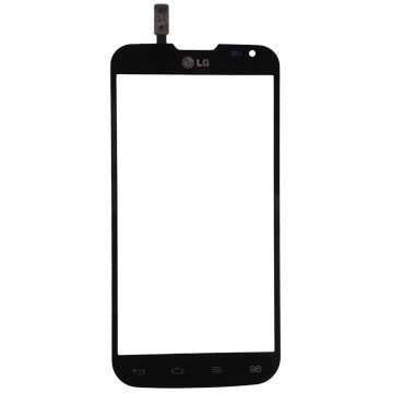 LG L90 dual dotykové sklo D410 černé