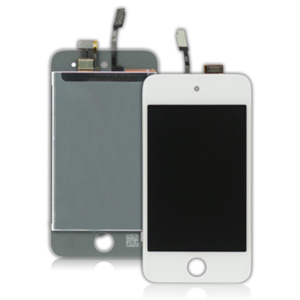 Apple iPod touch 4 gen. LCD displej dotykové sklo bílé