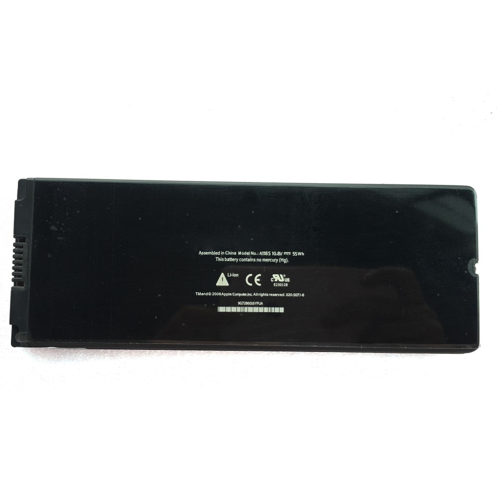"Apple Macbook Black černý 13"" A1185 A1181 Baterie MA561 original"