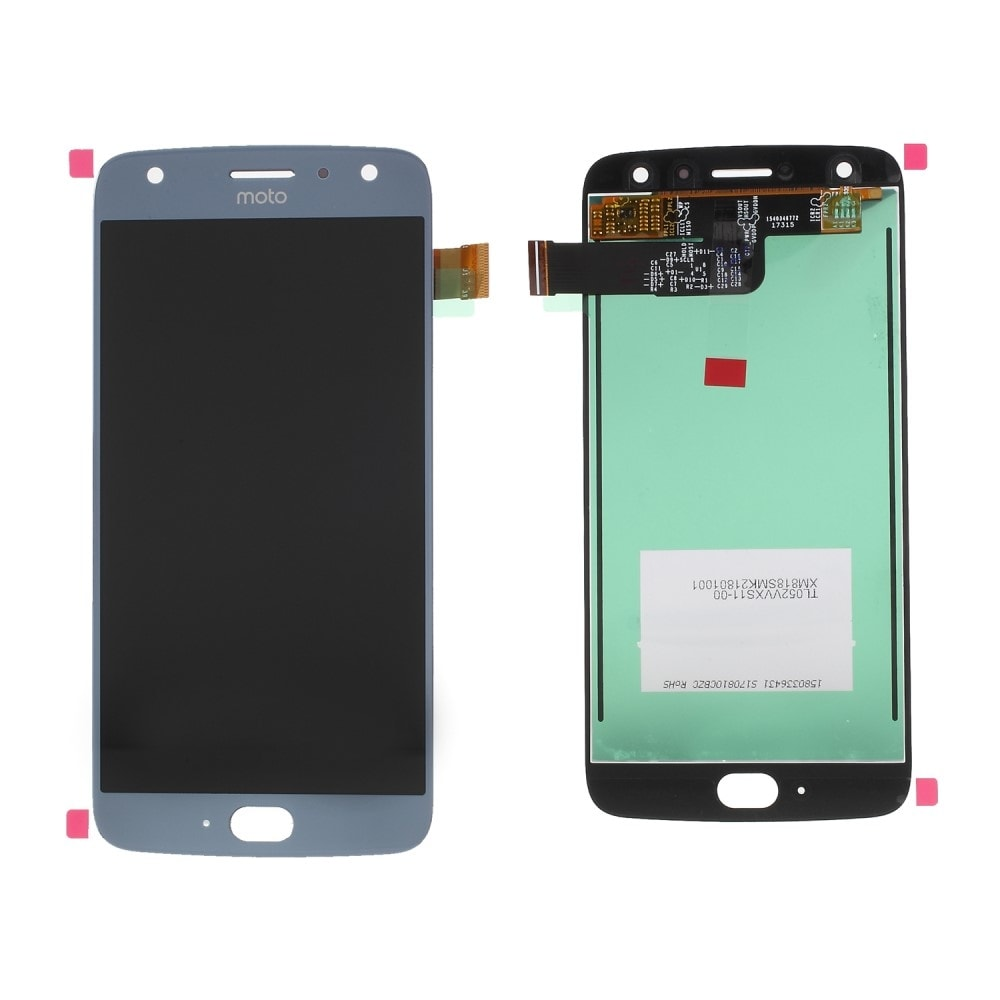 Motorola Moto X4 / Moto X (4th gen.) LCD displej dotykové sklo modré