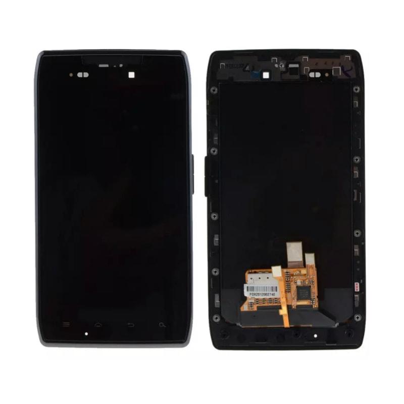 Motorola Droid Razr LCD displej + dotykové sklo komplet rámeček XT910 XT912