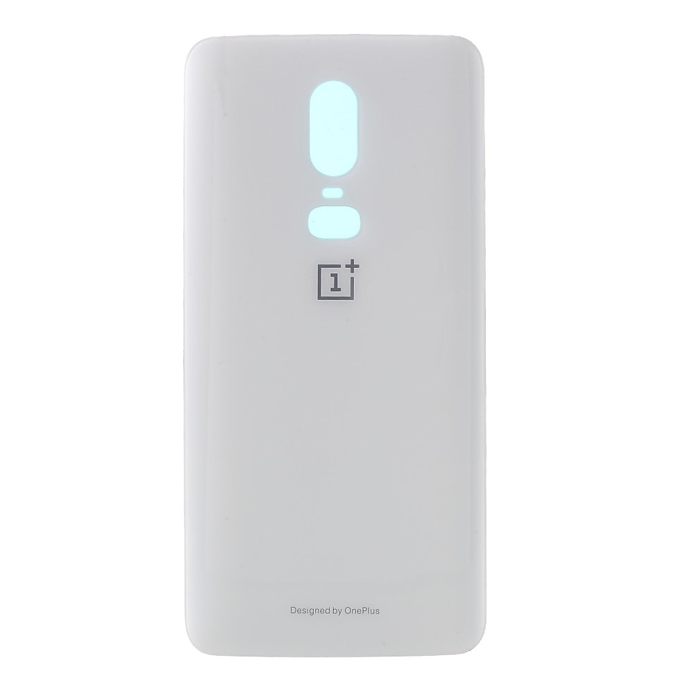 Oneplus 6 zadní kryt baterie skleněný bílý