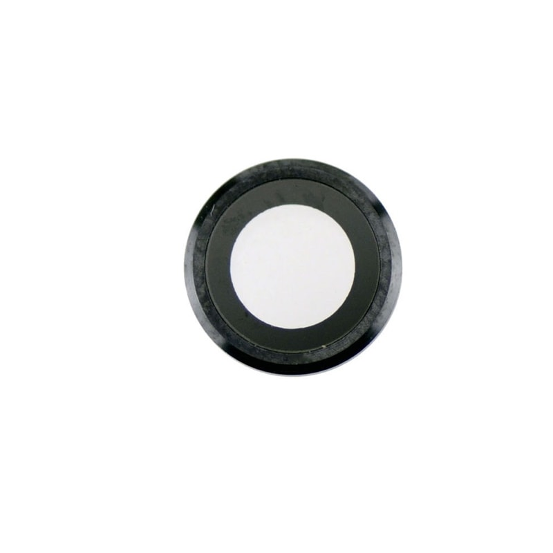Apple iPhone 6 Plus / 6S Plus krytka čočky kamery fotoaparátu černá