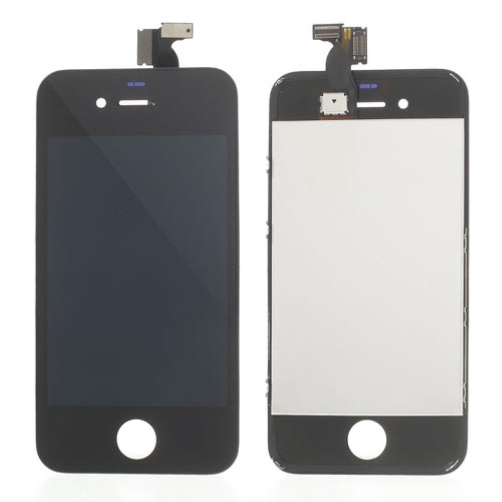 Apple iPhone 4S LCD displej černý + dotykové sklo komplet