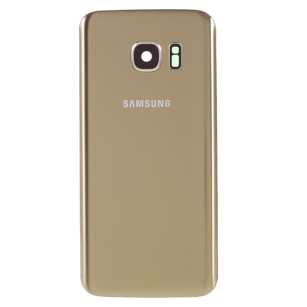 Samsung Galaxy S7 zadní kryt baterie zlatý včetně krytky fotoaparátu G930F