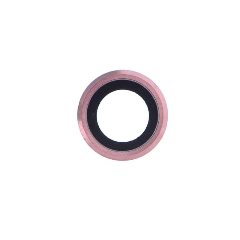 Apple iPhone 6 Plus / 6S Plus krytka čočky kamery fotoaparátu růžová