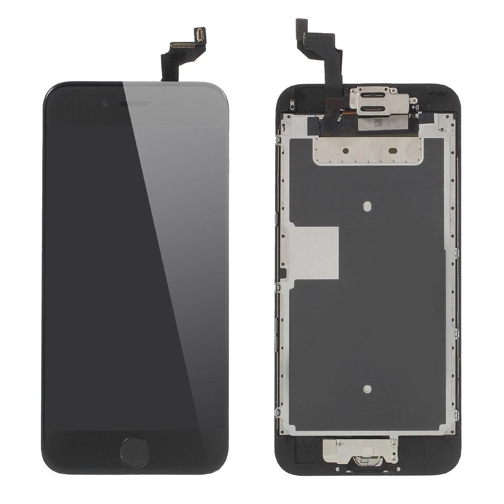 Apple iPhone 6S LCD displej OSÁZENÝ dotykové sklo černé
