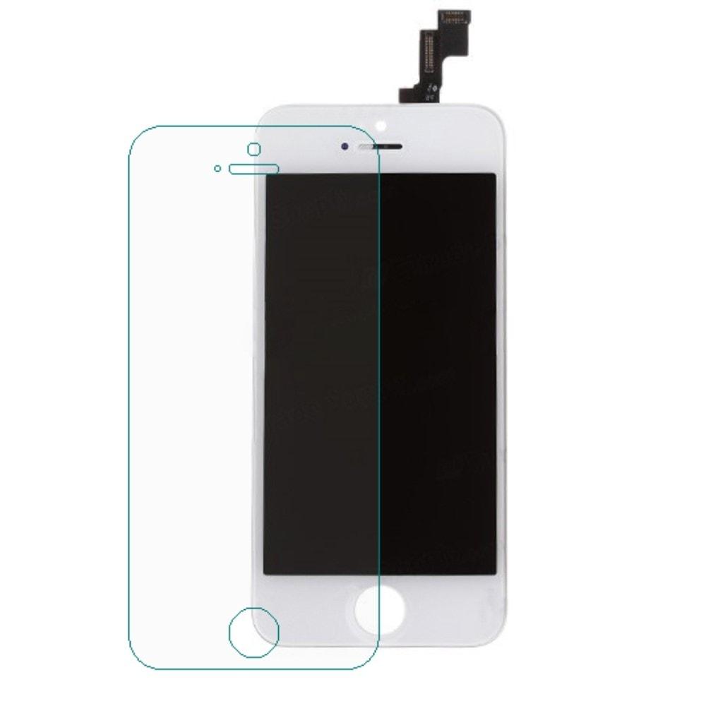 Apple iPhone 5S LCD displej dotykové sklo bílé