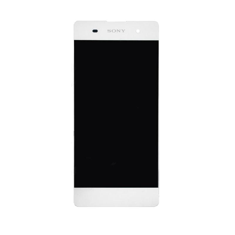 Sony Xperia XA LCD displej komplet dotykové sklo bílé včetně rámečku F3111
