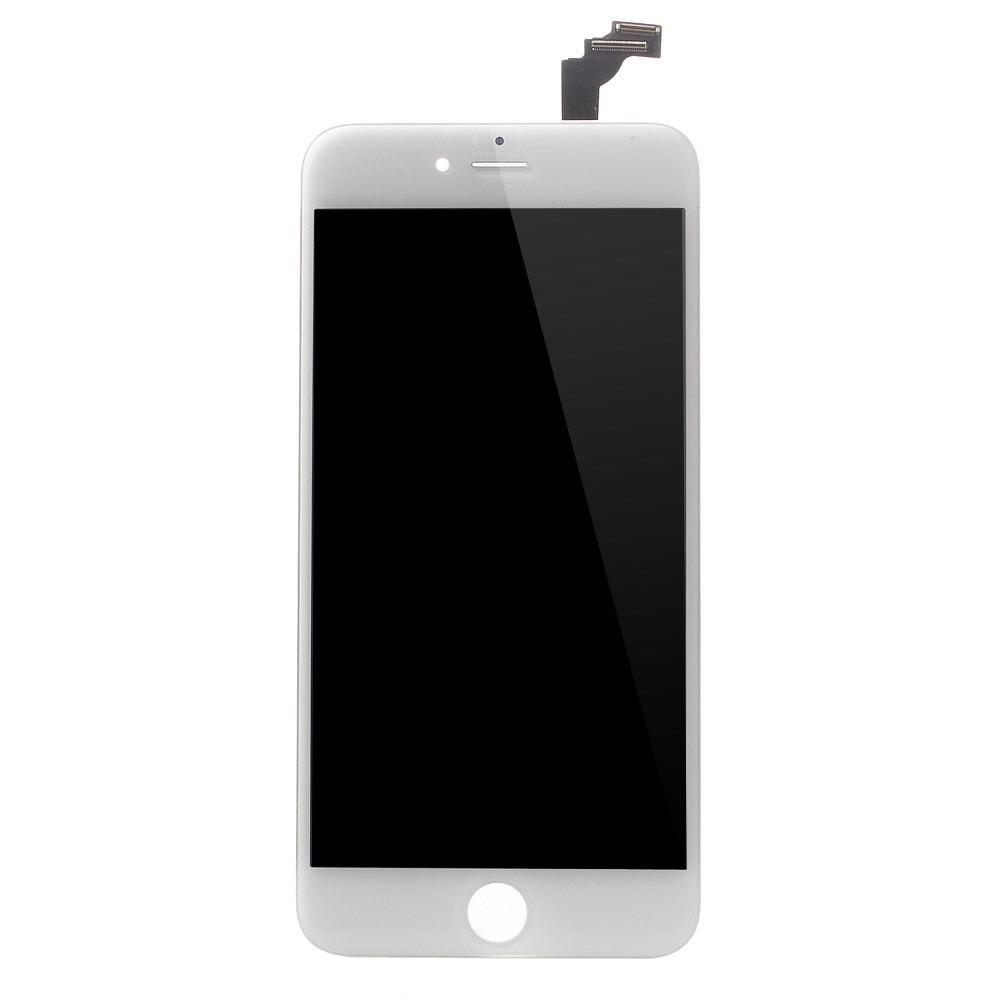 Apple iPhone 6 Plus LCD displej bílý + dotykové sklo komplet