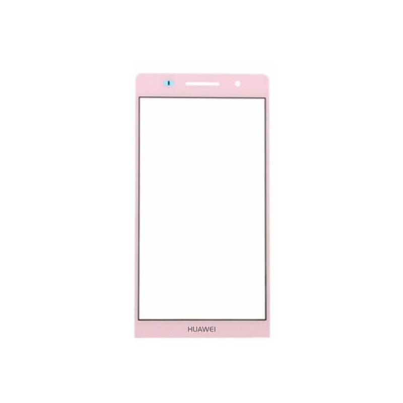 Huawei P6 sklo růžové