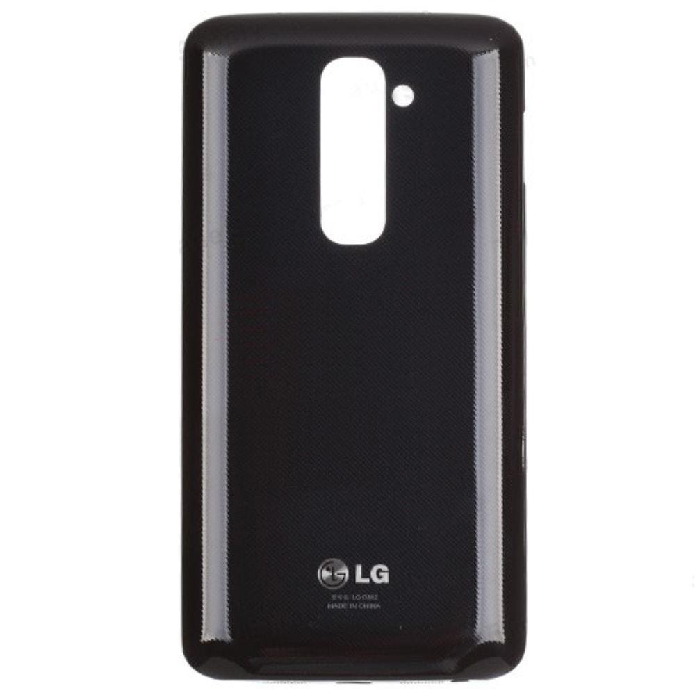 LG G2 zadní kryt baterie plastový černý D802 D803 včetně NFC antény