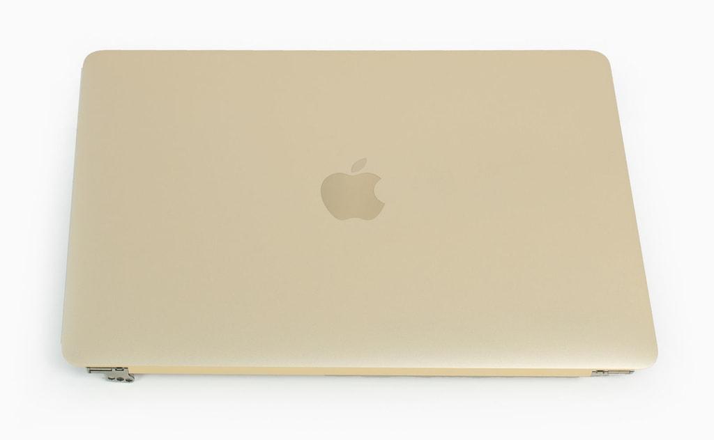 """Apple MacBook 12"""" A1534 LCD displej kryt kompletní horní víko zlaté"""