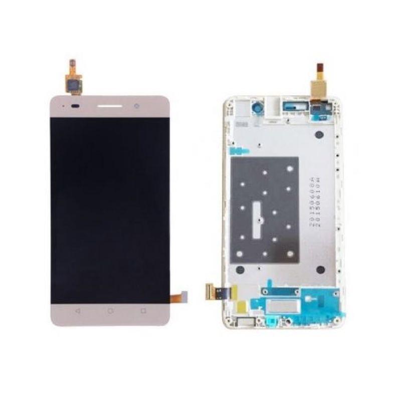 Honor 4C LCD Displej zlatý + dotykové sklo včetně rámečku