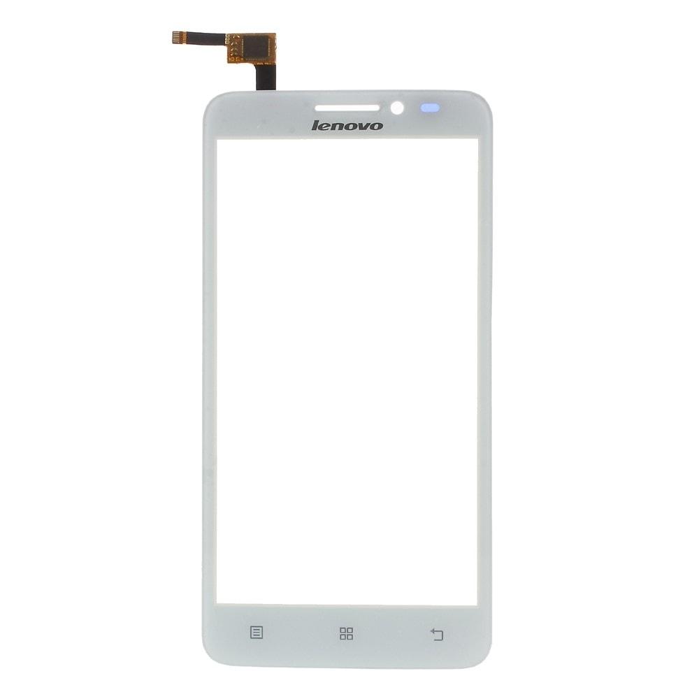 Lenovo A606 dotykové sklo digtizer bílý