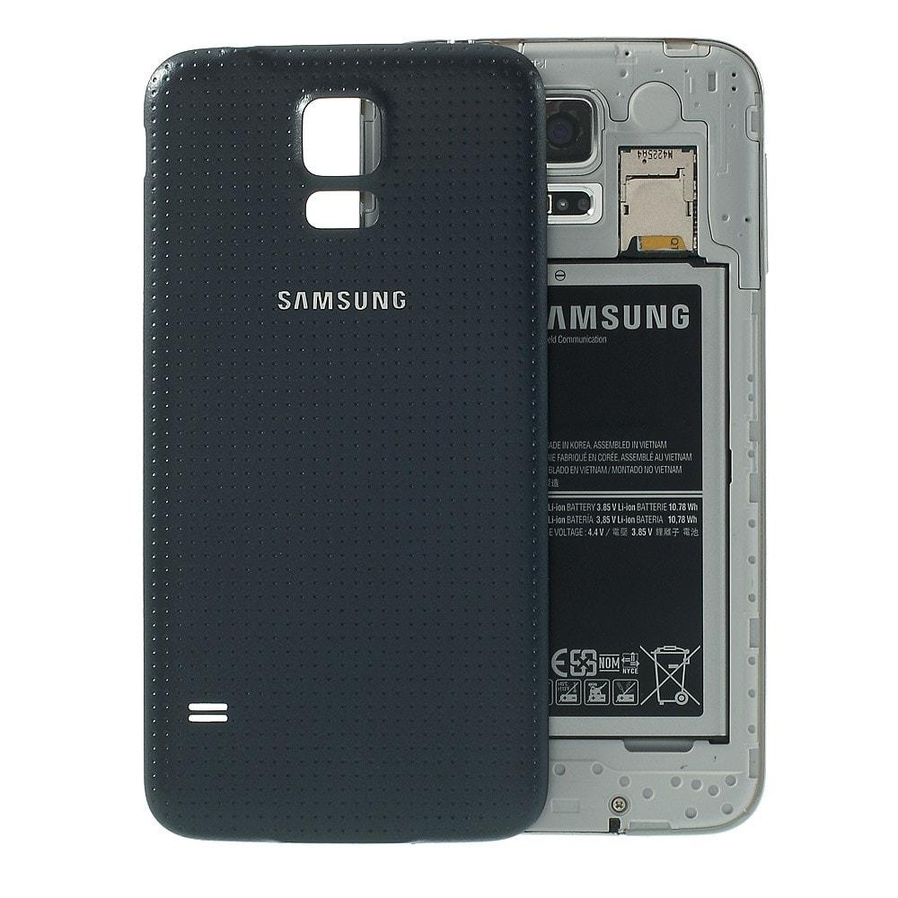 Samsung Galaxy S5 zadní kryt baterie šedý G900F