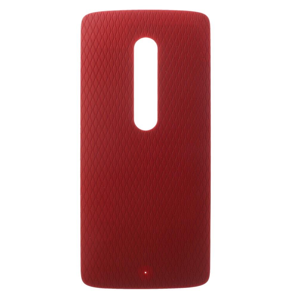 Motorola Moto X play zadní kryt baterie červený