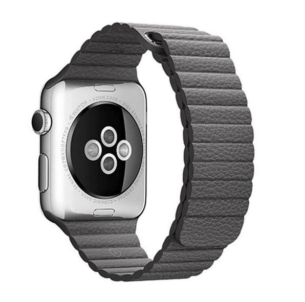 Apple Watch 42mm 44MM Kožený řemínek článkový vlnitá benátská useň