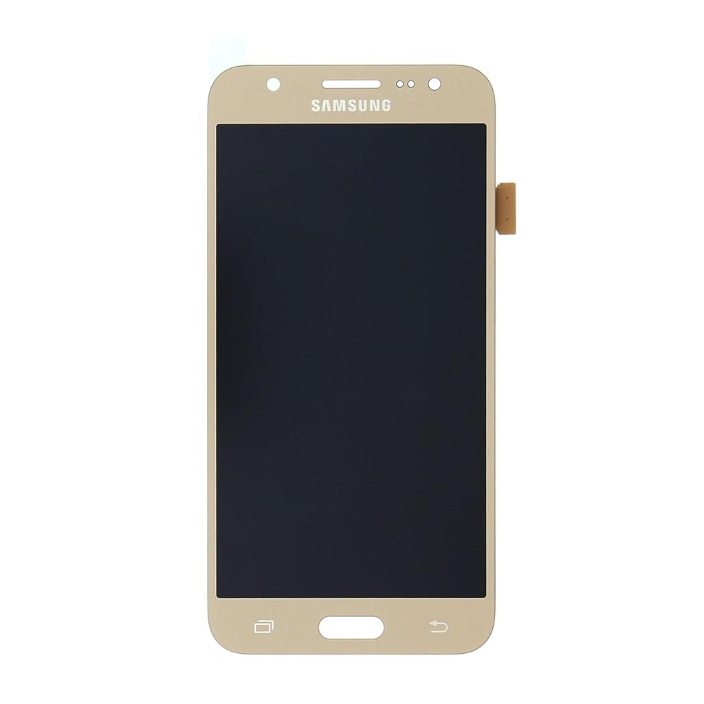 Samsung Galaxy J5 2015 LCD displej dotykové sklo zlaté J500F