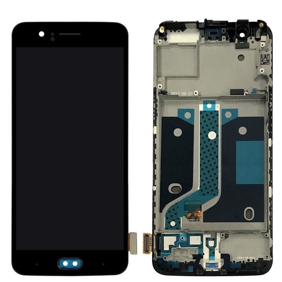 Oneplus 5 LCD displej dotykové sklo s rámečkem